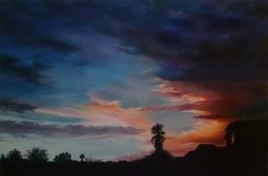 Nanci McCune - Monsoon Reflection - 24x36