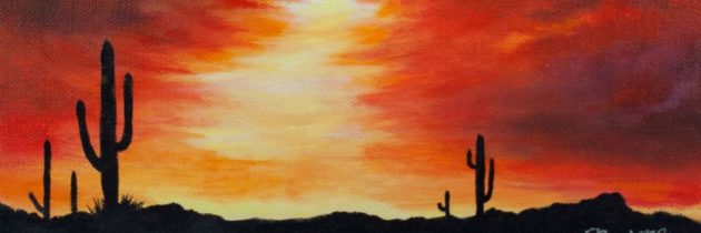 Saguaro Sunset 1